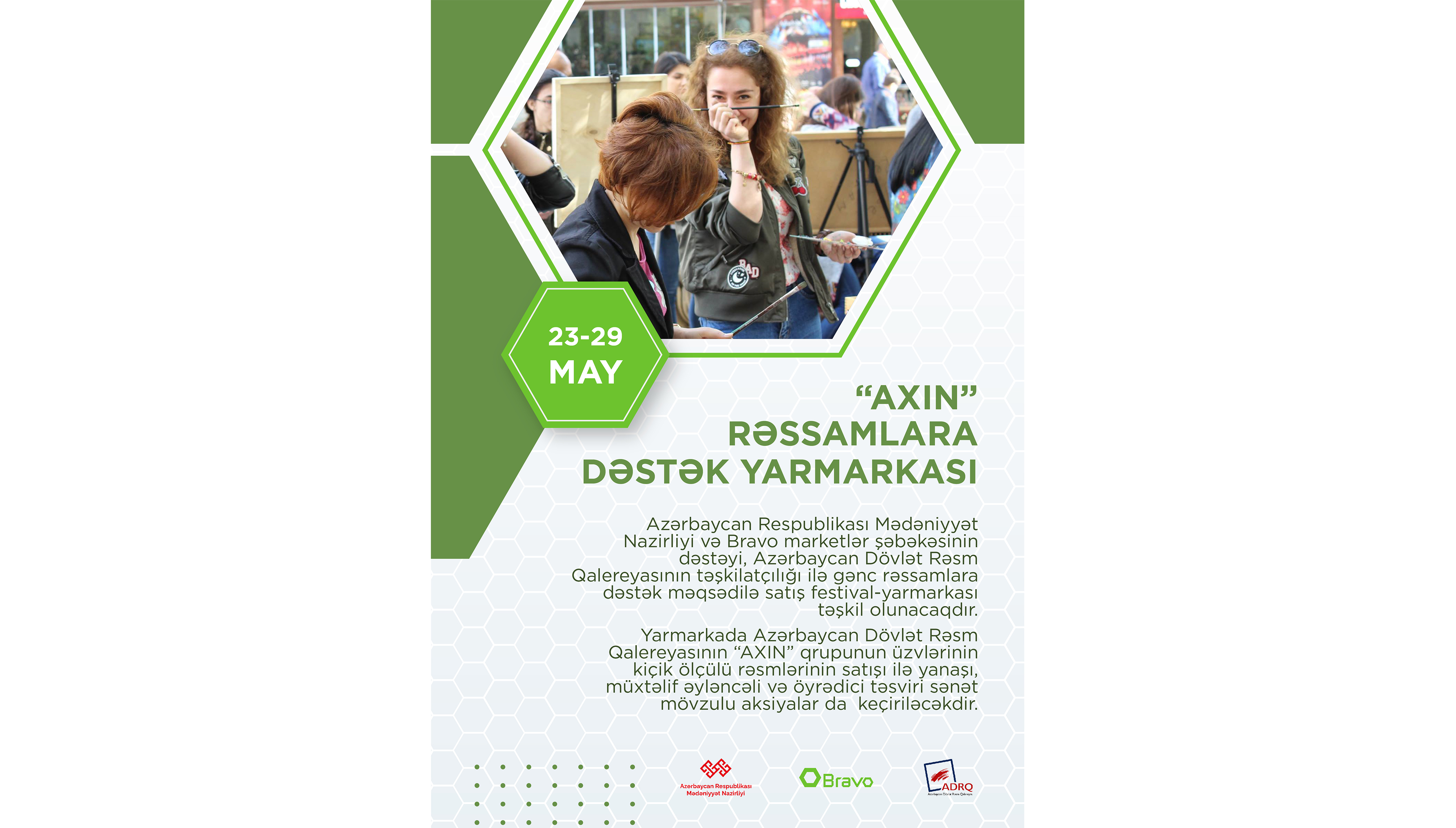 'AXIN'' support fair for artists will be organized.
