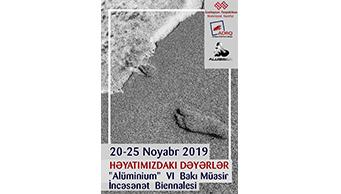 """Bakıda VI """"Alüminium"""" Beynəlxalq Müasir İncəsənət Biennalesi keçiriləcək"""
