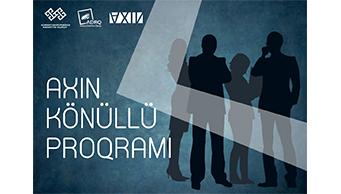 Azərbaycan Dövlət Rəsm Qalereyası AXIN Könüllü Proqramına start verir.