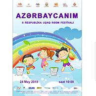 """""""AZƏRBAYCANIM"""" II Respublika Uşaq Rəsm Festivalı keçiriləcək"""