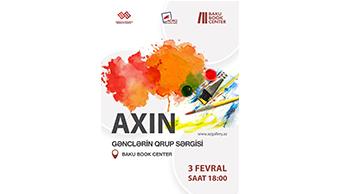 """Gənc rəssamların """"AXIN"""" adlı qrup sərgisi keçiriləcək"""