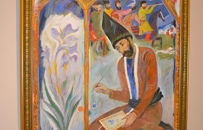 Altay Hacıyevin yubiley sərgisi
