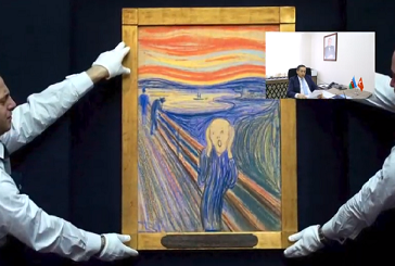 """The second part of the online lecture on """"Contemporary Art"""" was held."""