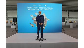 Azərbaycan rəssamlarının respublika satış sərgisi