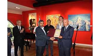"A solo exhibition of an artist Rizvan Ismail was opened in the ""Gallery 1969"" on June 25, 2019."