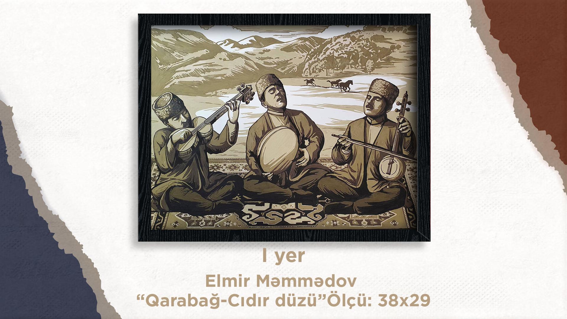 """""""Can Azərbaycan"""" Respublika yaradıcılıq müsabiqəsinin yekun virtual sərgisi keçirilib."""