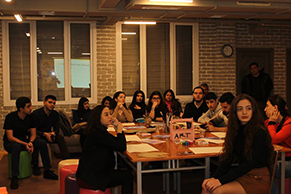 """""""XX əsr Rəssamların Üslubları.Ekspressionizm, Fovizm"""" adlı seminar və workshop keçirilib"""