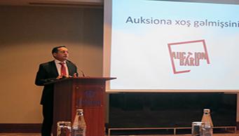 Qalib Qasımov: Növbəti auksionarda innovativ metodlara, yanaşmalara istinad ediləcək