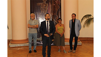 "Mahmud Rustamov's ""UN / PUBLISHED"" exhibition opens in Baku."