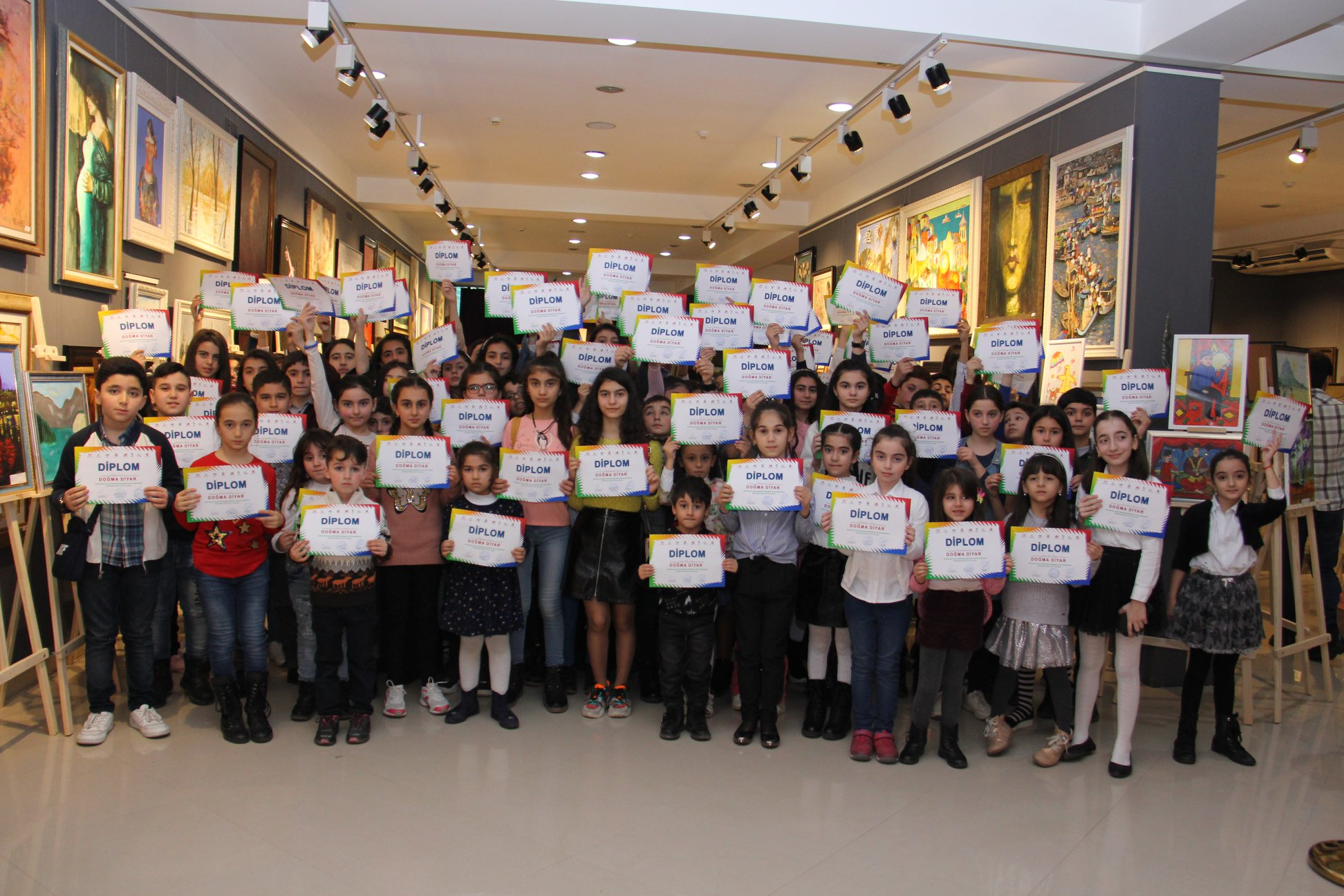 "The final exhibition of the Republican Children's Drawing Competition ""Native Land"" was held + Photo"