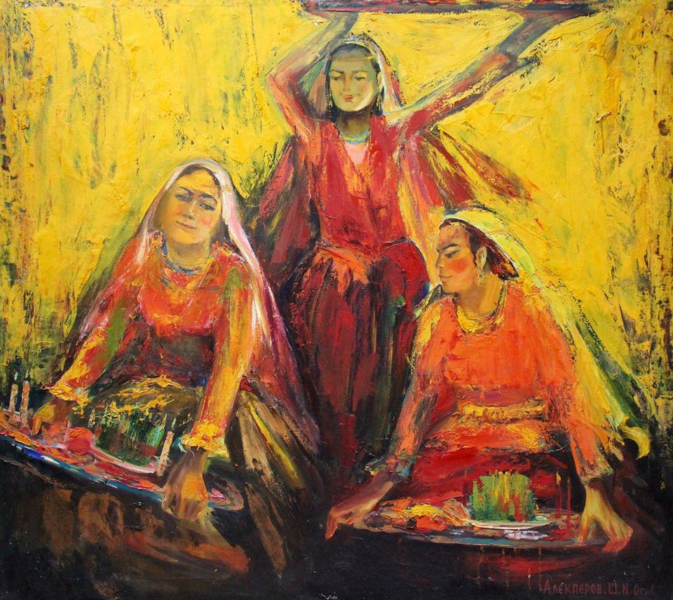 Azərbaycan rəssamlarının Novruz bayramına həsr olunmuş virtual sərgisi açılıb