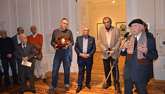 A personal exhibition dedicated to the jubilee of National Artist Altay Hajiyev has opened.