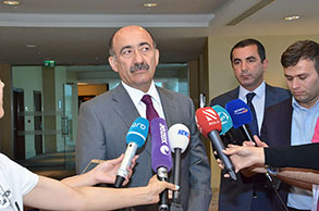 """On May 21,  the auction of artworks was held for the first time in hotel """"Hilton Baku""""."""