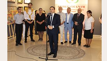 """""""AZƏRBAYCANIM"""" adlı RESPUBLIKA UŞAQ RƏSM FESTIVALININ rəsm müsabiqəsinin yekun sərgisi keçirilmişdir."""