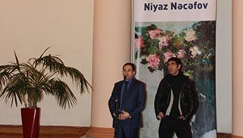 Tanınmış rəssam Niyaz Nəcəfovun sərgisinin açılışı baş tutmuşdur