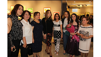 "Fatima Mahmudova's  personal exhibition named after  ""My colorful world"" was opened."