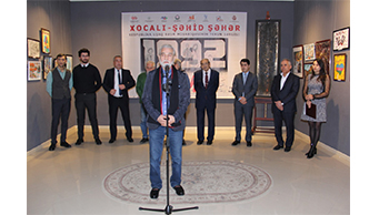 "The opening of final republic painting exhibition of children ""Khojaly- Martyr City"" was held."