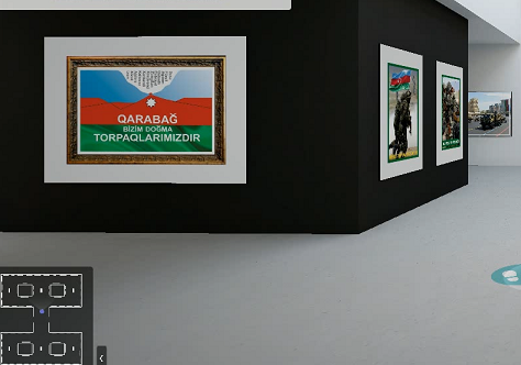"An online photo-poster exhibition titled ""Only our Motherland!"" has opened"