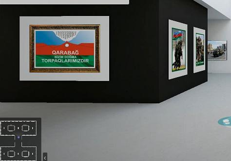 """""""Öncə Vətəndir"""" adlı onlayn foto-plakat sərgisi açılıb"""