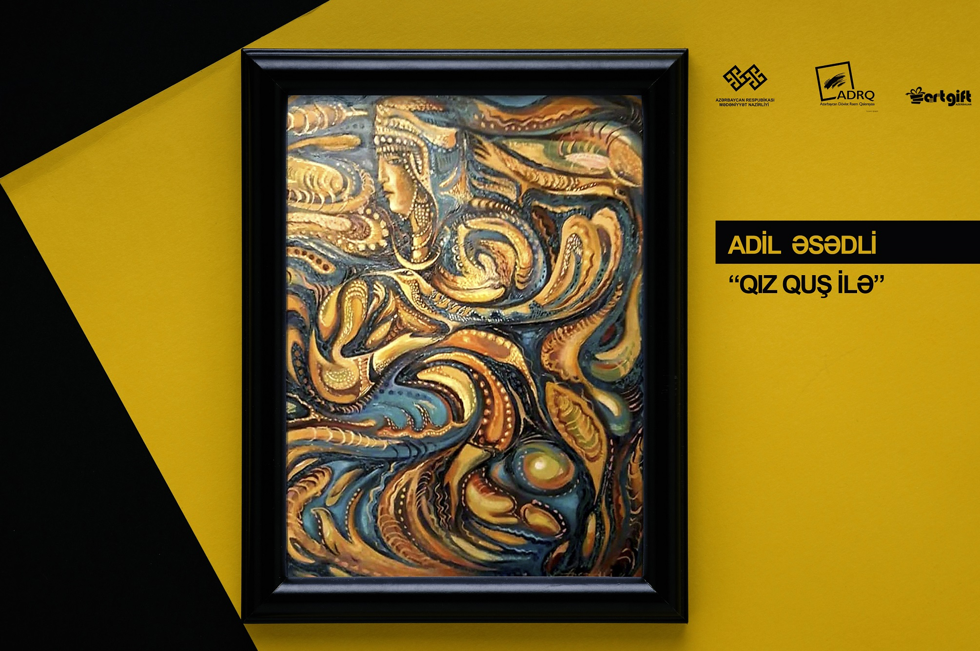 """The Online Sales Exhibition of Azerbaijani Artists"""" was held."""